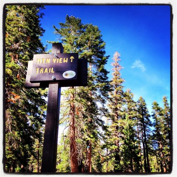Mountain View, lower trailhead