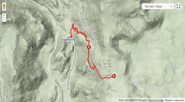 Starkweather Trail Map