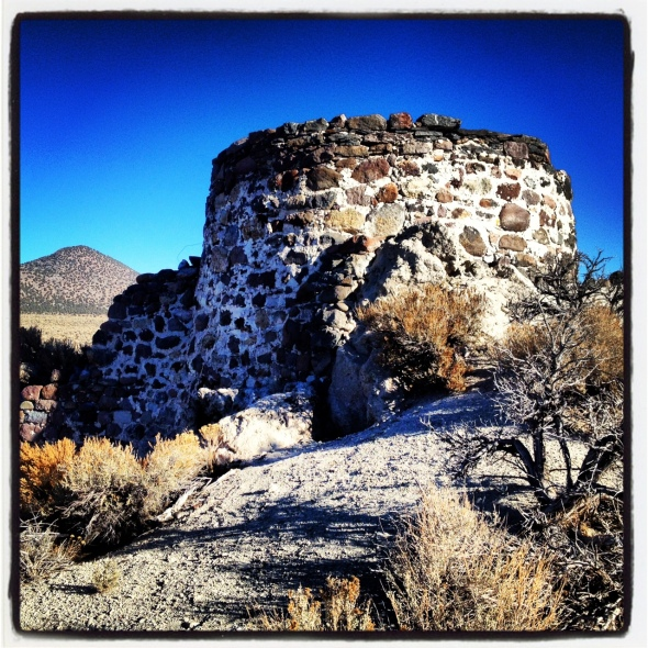The old Lime Kiln.  This is where the ride starts and ends.