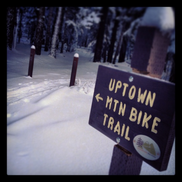 Uptown Trailhead in Winter