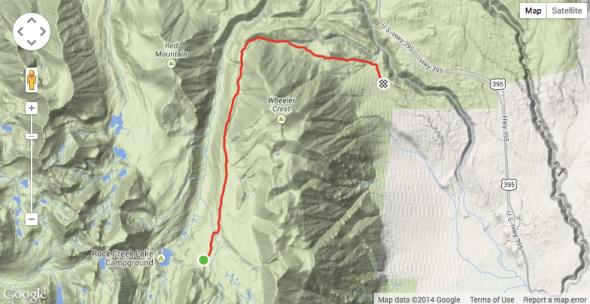 Sand Canyon Map