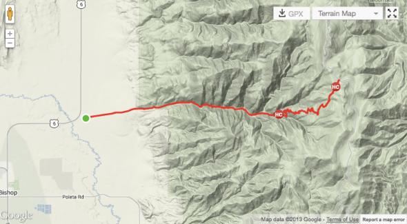 Silver Canyon Map
