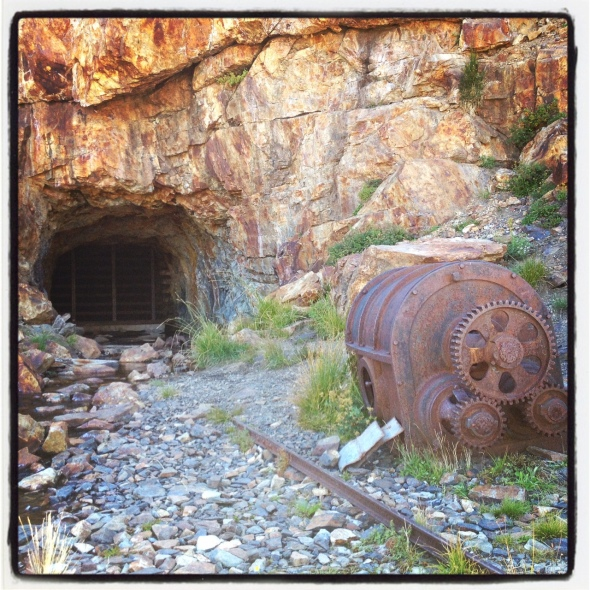 Another view of the Great Sierra Tunnel.
