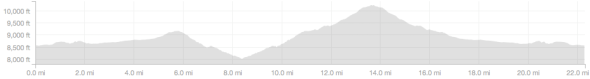 Double High Five Y - Elevation Profile